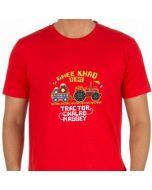 Retro Massey (Red T-Shirt)